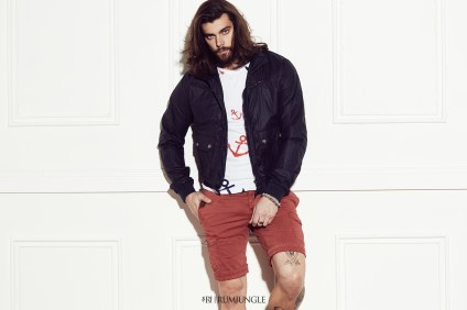 Jacket GRIFFIN | T-shirt TIMONE | Shorts BUFORD