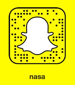 Nasa on Snapchat