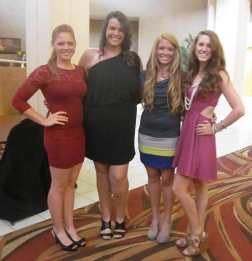Beth, Myself, Jessie, and Olivia