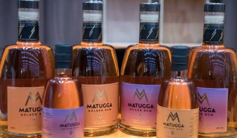 Matugga Gold and Spiced rums