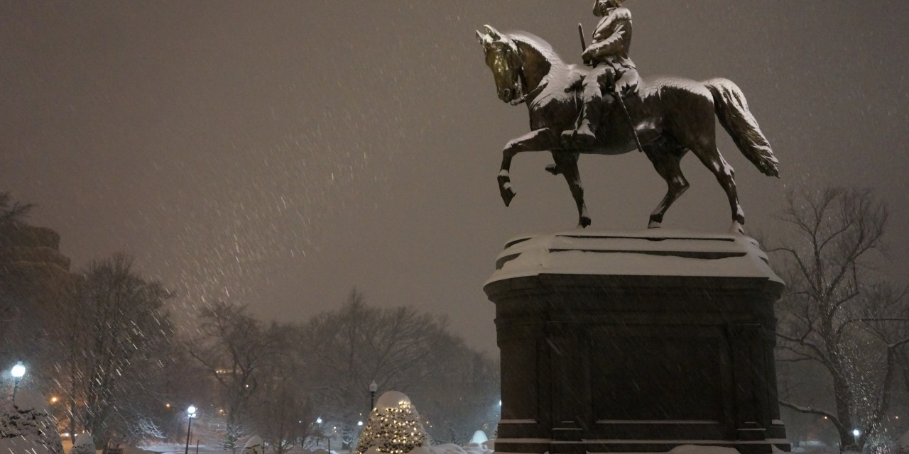 Valentine's Day Storm, Boston
