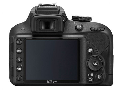 Kamera Nikon D3300 (Belakang), Image Credit: Nikon