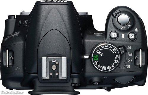 Nikon D3100 (Atas), Image Credit : Nikon
