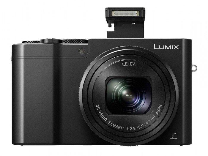 Kamera Panasonic Lumix TZ100 (Depan), Image Credit : Panasonic
