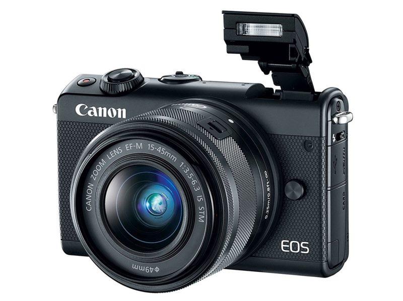 Kamera Canon EOS M100 (Flash), Image Credit: Canon