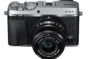 Kamera Terbaru Fujifilm X-E3 (Depan), Image Credit: Fujififlm