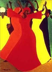 Artist Bernard Hoyes In the Spirit Painting