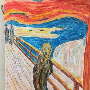 """Perspective Lesson – """"The Scream"""" by Edvard Munch"""