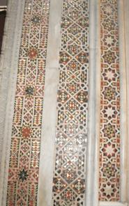 Islamic-style mosaics in Palermo