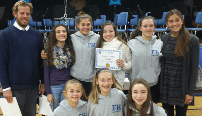 Knollwood Cross-Country, Field Hockey Athletes Honored