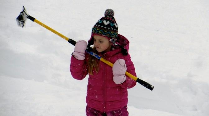 Blizzard Goes Bust: Snow Angel Sabbatical?