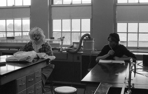 The RFH clown in the class circa 1970s Photo/George Day