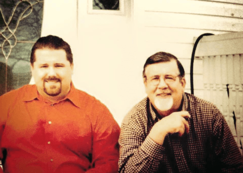Andy and Bob Dougherty Photo/courtesy of Andy Dougherty