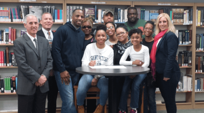 RFH's Janae Mayfield Signs Letter of Intent