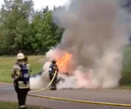 A Rumson Father's Day Car Fire