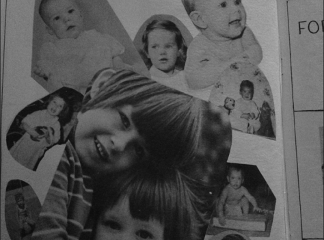 Page out of Forrestdale yearbook 1974