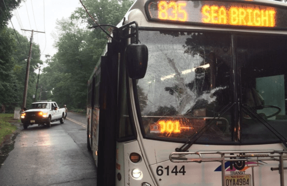 Rumson: Bus Driver Veers Out of Storm-Wrought Electrical Wire Trouble