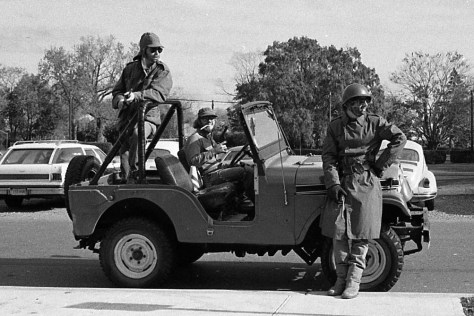 RFH Class of 1978 crew on a joy ride Photo/George Day