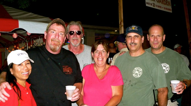 The Fair Faces of Firemen's Night