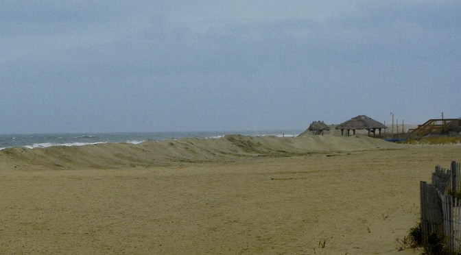 Focus: Fall Solitude on Sea Bright Beach