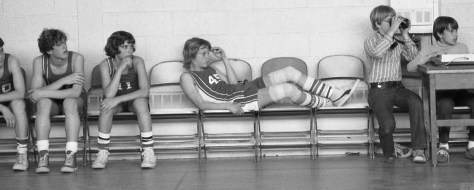 A 1970s RFH basketball moment Photo/George Day