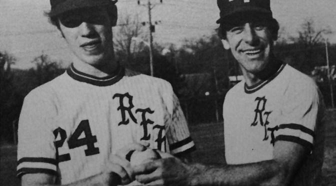 Retro RFH Baseball Home Run