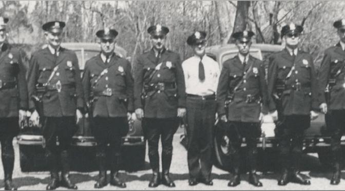 Retro Rumson Police Line-Up
