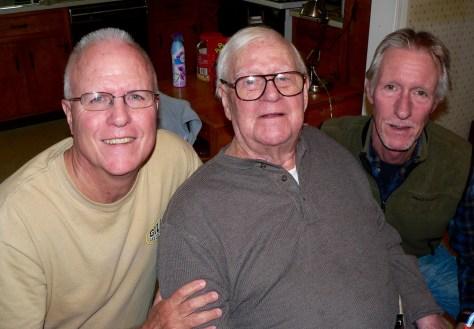 Ken Curchin and his boys at his Fair Haven home Photo/Elaine Van Develde