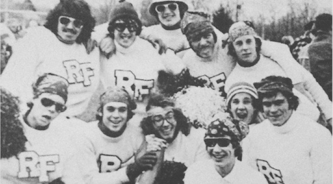 Retro RFH Cheer for the State Football Champs