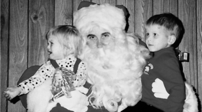 Retro Scary Santa IV
