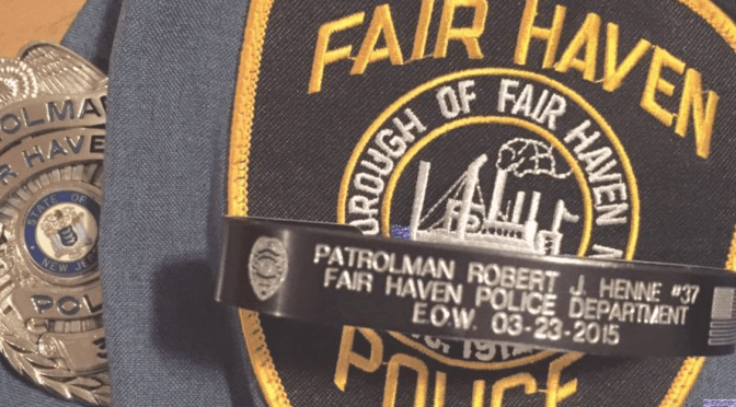 Remembering Fair Haven Police Patrolman Robert J. Henne