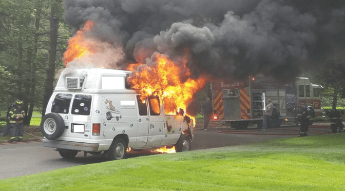 Rumson Vehicle Fire Doused Quickly