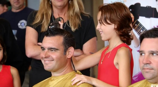 Focus: A Fair Haven Cop's Shave for Childhood Cancer