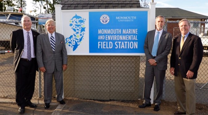 Rumson & Monmouth U Forge Partnership to Build Marine Research Facility on River