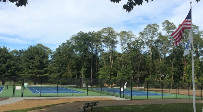 Fair Haven's New Tennis Courts Unveiled