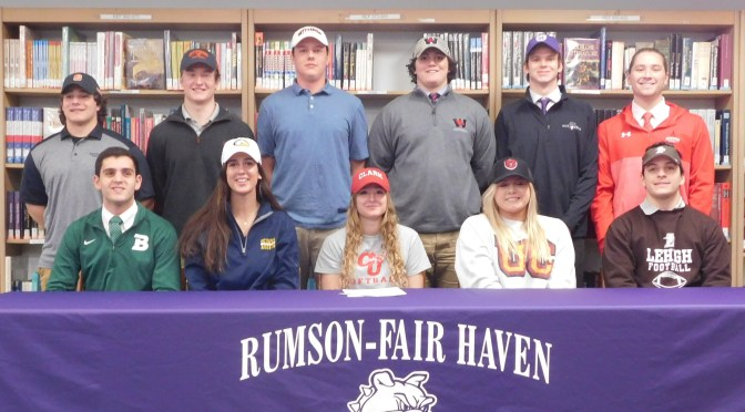 RFH Student Athletes Sign Letters of Intent
