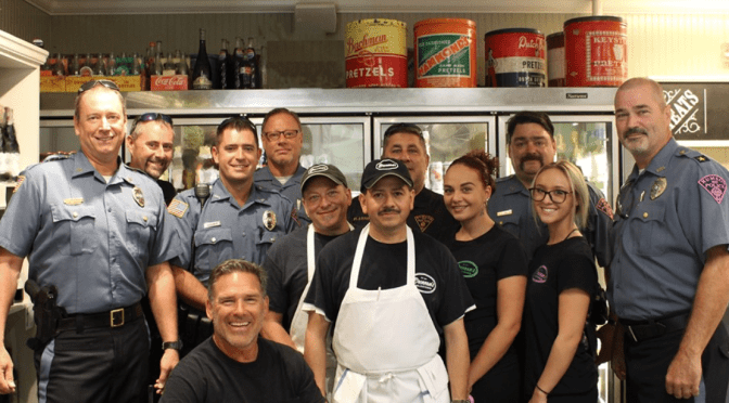 Scene Around: Coffee with Rumson Cops