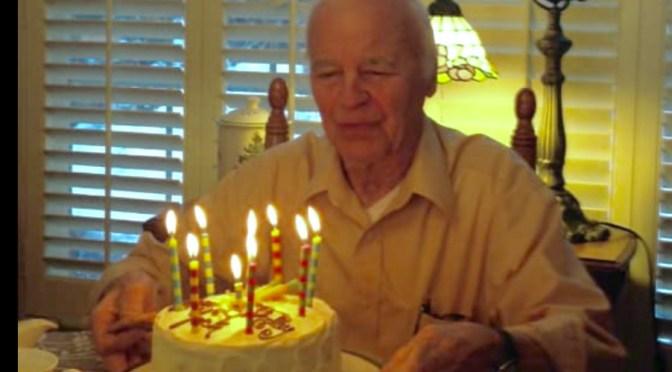 Scene Around: A Teacher, A Test & A 90th Birthday