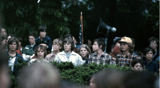 Retro Rumson Eighth Graders' Memorial Day