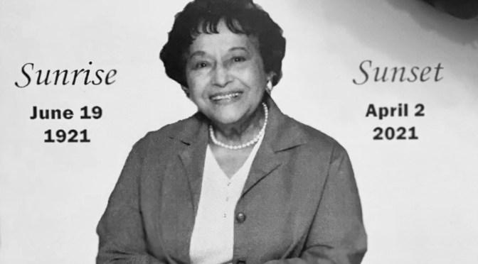 Remembrance of a Neighbor: 62-Year Fair Havenite, Iris Bluford, 99