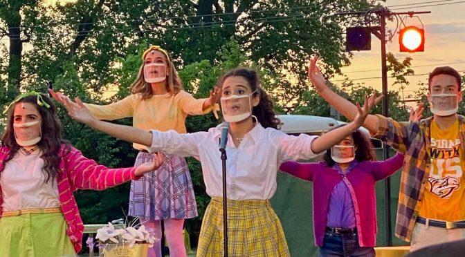 Focus: Stars, Masks & RFH's 'Emma! A Pop Musical'