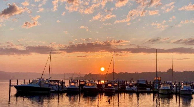 Focus: Dawn of a New Week at the Dock