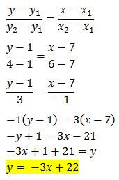 (y-y_1)(y_2-y_1 )=(x-x_1)(x_2-x_1 )