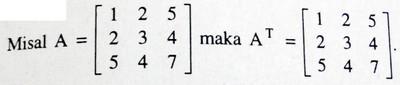 matriks simetri