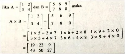 perkalian dua matriks