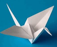 perubahan fisika dari kertas menjadi origami