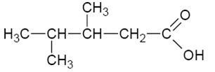 asam 3 4 dimetil pentaoat