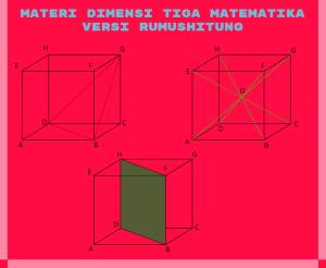 Dimensi Tiga Matematika Versi Rumus Hitung