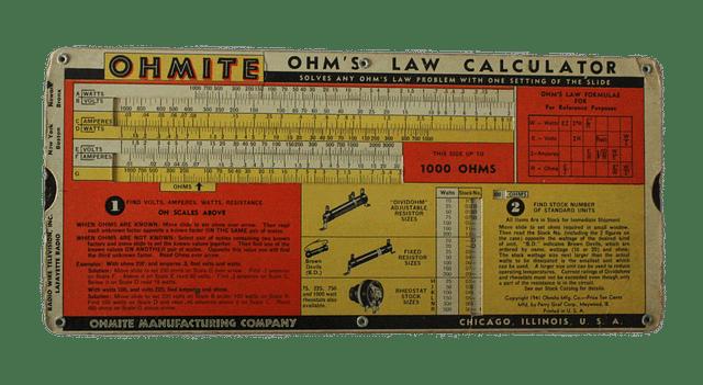 Hukum Ohm Beserta Rumusnya