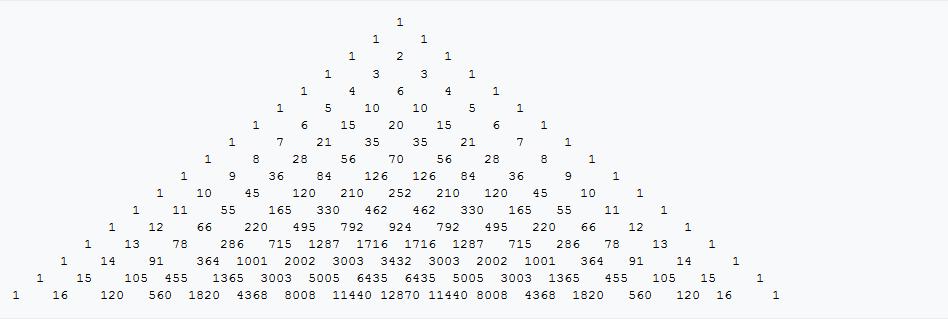 sejarah segitiga pascal
